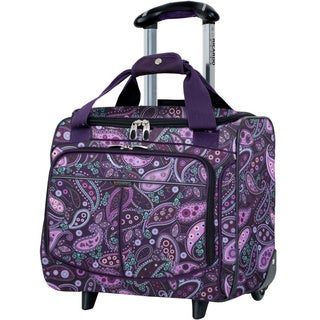 Lightweight Rolling Carry On Totes Overstock Shopping The Best Prices Online