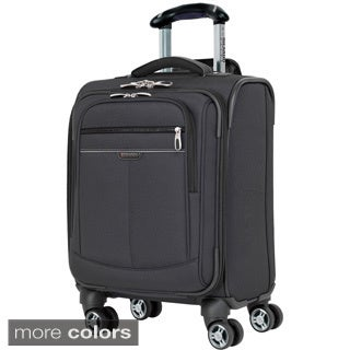 Ricardo Beverly Hills Mar Vista Solid 17-inch Expandable Carry On Spinner Upright Suitcase