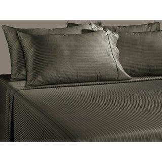 Luxury Stripe 700 Thread Count Cotton Rich Deep Pocket 6-piece Sheet Set