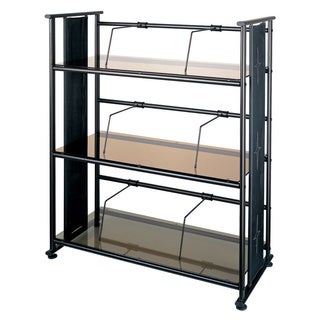 Dain-o-lite Bronze Glass Elegant Bookshelf