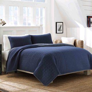 Nautica Maywood 3-piece Cotton Quilt Set