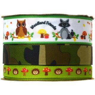Babyville Boutique Ribbon Packs 6yd-Forest Friends