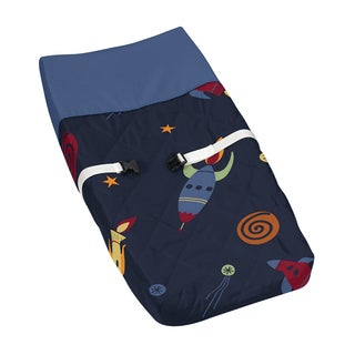 Sweet Jojo Designs Space Galaxy Changing Pad Cover