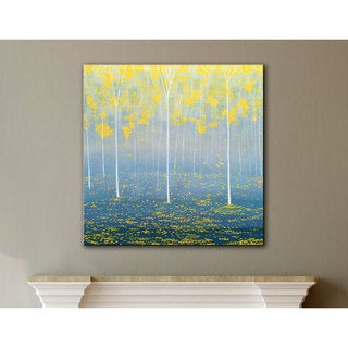 Herb Dickinson 'Verda Forest 2' Gallery-wrapped Canvas