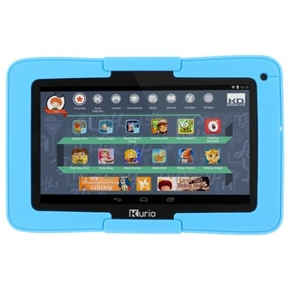 """Kurio Xtreme 7"""" Android Tablet with Blue Bumper"""