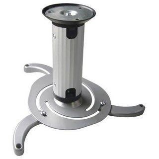 Arrowmounts Silver Full Rotation Tilting Projector Ceiling Mount