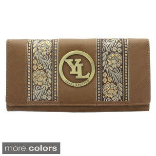 YL Fashion Women's Leather Bi-fold Wallet