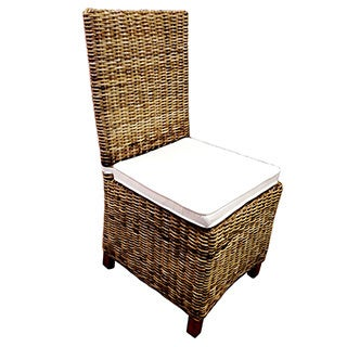 D-Art Carrolton (Set of 6) Rattan Wicker Dining Chairs (Indonesia)