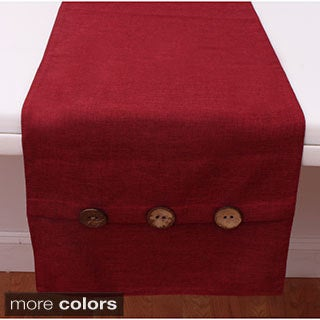 Chelsea Table Runner with Buttons