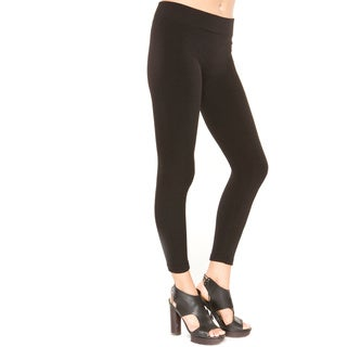 Just One Women's Regular Size Fleece Lined Leggings