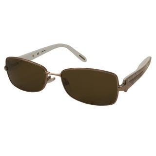 Givenchy Women's SGV468 Rectangular Sunglasses