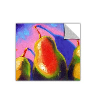 Susi Franco 'Pearfect Shadow' Removable Wall Art