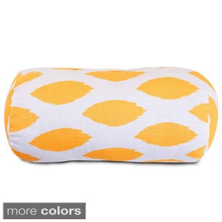 Alli Geometric Pattern Round Bolster Pillow