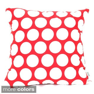 Polka Dotted 24 x 24-inch Extra Large Pillow