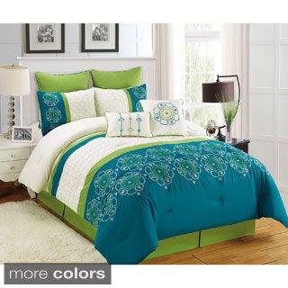 Fashion Street Italiana 8-piece Comforter Set