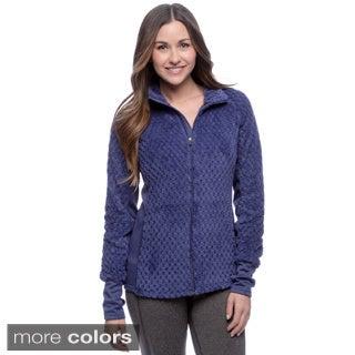 RBX Activewear Women's Pineapple Sherpa Solid Jacket