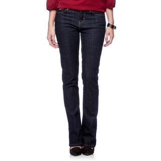 Levi's Women's Mid-rise Styled Skinny Boot Cut Regal Rinse Jeans