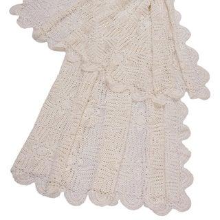 Jovi Home Georgia Handmade Crochet Throw