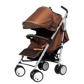 Sherman Blvd Single Stroller in Brown/ Tan