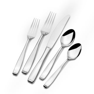 St. James Grand Isle 18/10 Stainless Steel 45-piece Flatware Set