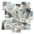 Cinderella Flat Pebble Mesh Tile (Pack of 5)