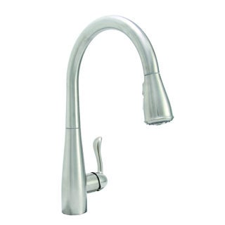 Premier Sanibel Single Lever PVD Brushed Nickel Pull-Down Kitchen Faucet