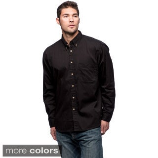 Sierra Pacific Men's Twill Cotton Long Sleeve Shirt