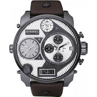 Diesel Men's DZ7126 'Mr Daddy' Oversized Chronograph Leather Watch