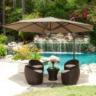 Christopher Knight Home Durango Outdoor Folding Sun Canopy with Base