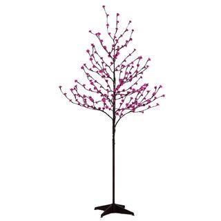 Lightshare 6-foot Warm White LED Decorative Rose Flower Tree with LED Decorative Light