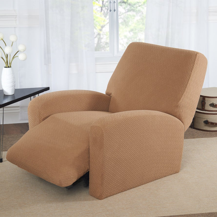 Basketweave Recliner Slipcover Overstock Shopping