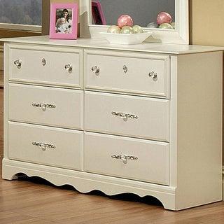 Sandberg Furniture Enchanted Pearl White Dresser
