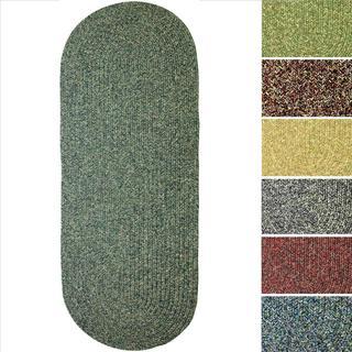 Sandi Indoor/ Outdoor Reversible Braided Rug (2' x 4')