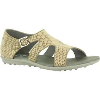 Footjoy Womens Naples Collection Beige/ Brown Golf Sandals