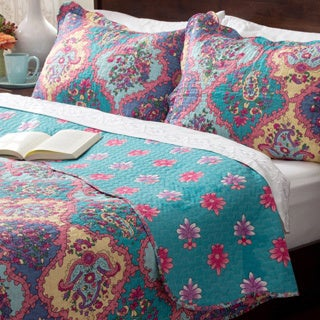 Slumber Shop Isabella 3-piece Reversible Quilt Set