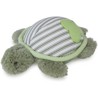 Loved Ones Durable Turtle W/Treat Pocket Dog Toy-Green