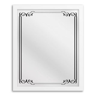 Art Deco II Hanging Framed Mirror Art