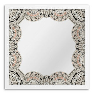 Doily Hanging Mirror Wall Art