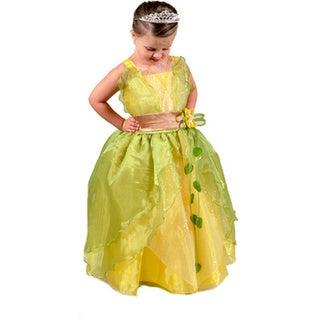Sweetie Pie Girls Yellow and Green Princess Dress