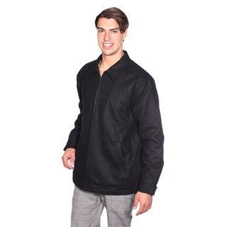 Wilda Men's Wool Pea Coat