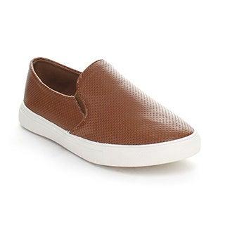 Forever Women's 'Desire-36' Tan Slip-on Loafers