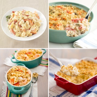 Hancock Gourmet Maine Lobster 'Cadillac' Casserole Sampler (Set of 4)