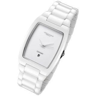 Cirros Women's Luxury White Ceramic Watch
