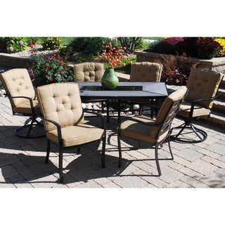 Sun Casual Austin Valley 7-piece Dining Set