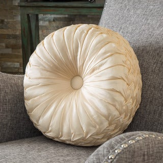 Christopher Knight Home 14-inch Round Sateen Pillow