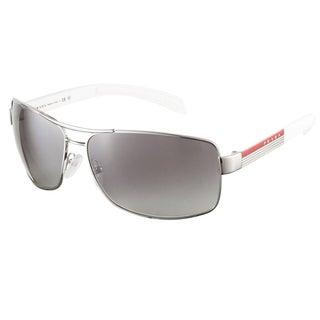 Prada Linea Rosa Unisex 'PS 54IS 1BC3M1' Aviator Sunglasses