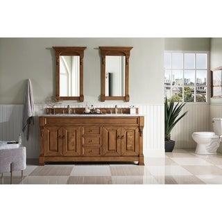 Silkroad Exclusive Watsonville 72 Inch Double Sink