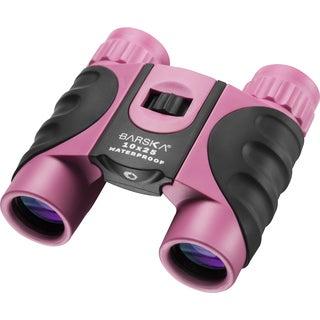 Barska 10x25 Waterproof Pink Binoculars