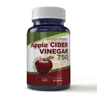 Totally Products Maximum Potency Apple Cider Vinegar Capsules (60 Count)