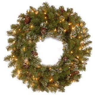 24-inch Crestwood Spruce Wreath